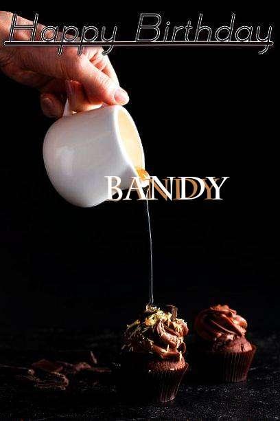 Happy Birthday Bandy Cake Image