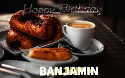 Happy Birthday Banjamin Cake Image