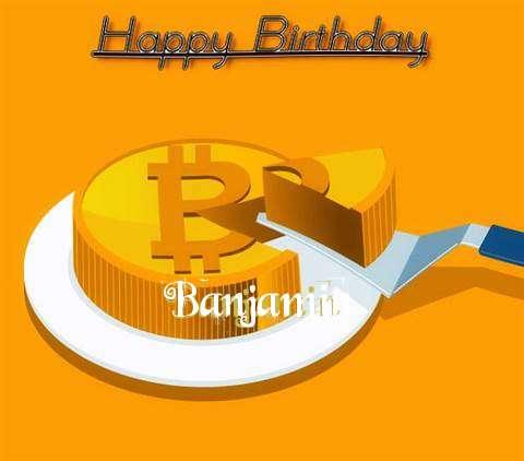 Happy Birthday Wishes for Banjamin