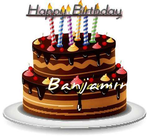 Happy Birthday to You Banjamin