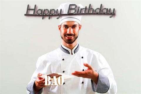 Bao Birthday Celebration