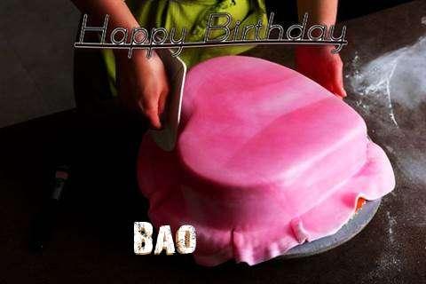 Happy Birthday Cake for Bao