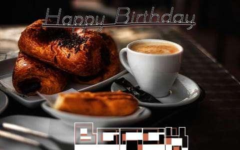 Happy Birthday Barak Cake Image