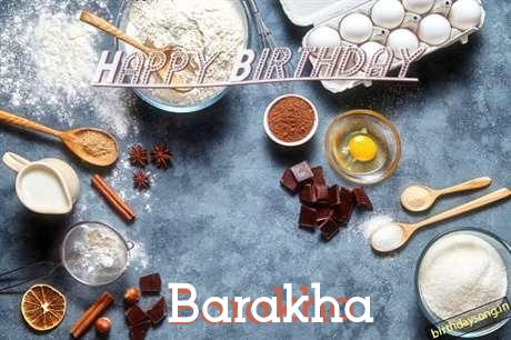 Birthday Wishes with Images of Barakha