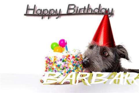 Happy Birthday Barbaraanne Cake Image