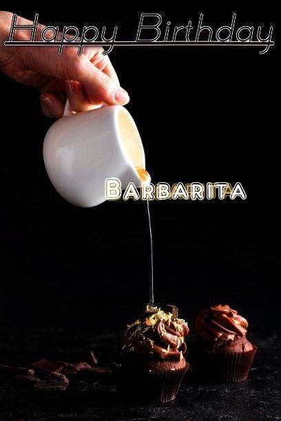 Happy Birthday Barbarita Cake Image