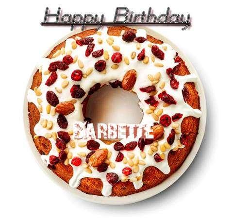 Happy Birthday Barbette