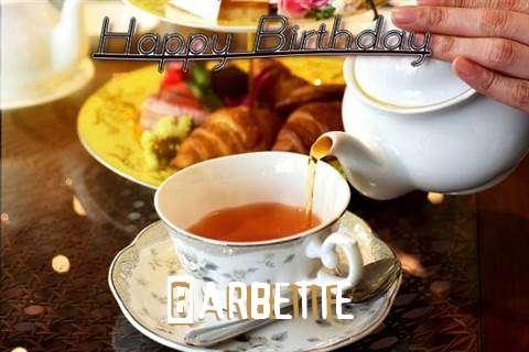 Happy Birthday Barbette Cake Image