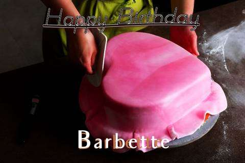 Happy Birthday Cake for Barbette