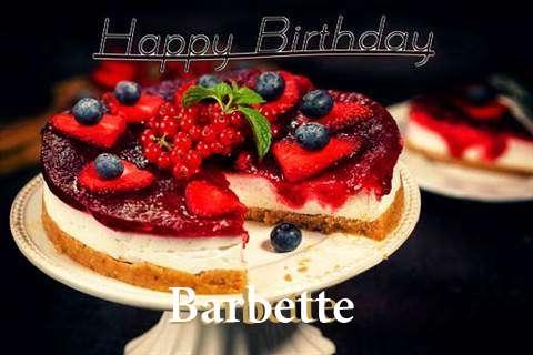 Barbette Cakes