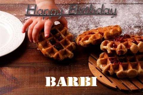 Happy Birthday Wishes for Barbi