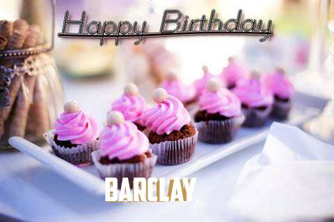 Happy Birthday Barclay
