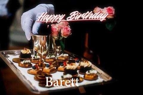 Happy Birthday Wishes for Barett