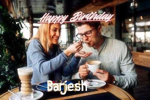 Happy Birthday Barjesh Cake Image