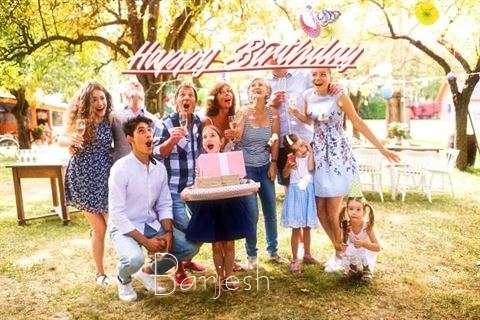 Happy Birthday Cake for Barjesh