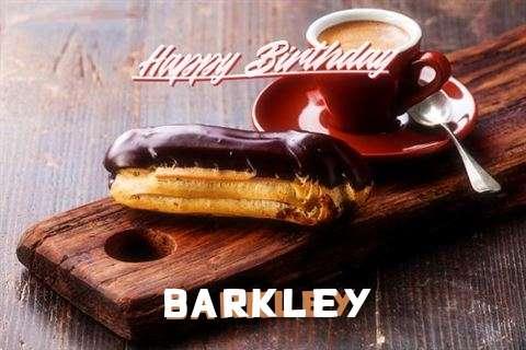 Happy Birthday Barkley Cake Image