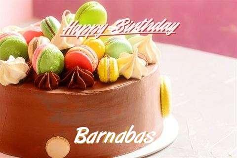 Happy Birthday Cake for Barnabas