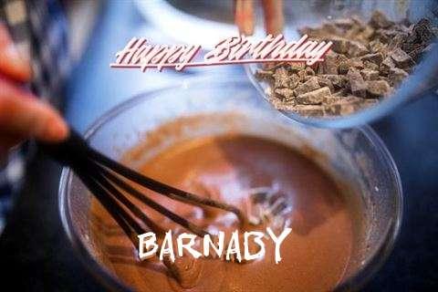 Happy Birthday Barnaby Cake Image