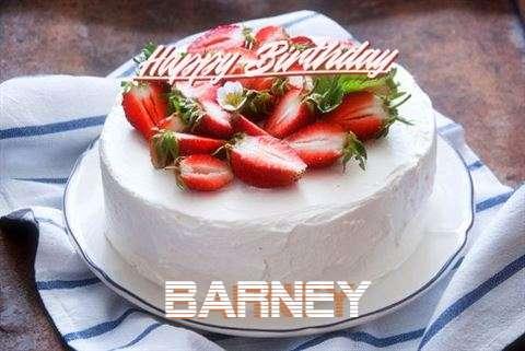 Happy Birthday Cake for Barney