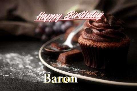Happy Birthday Wishes for Baron