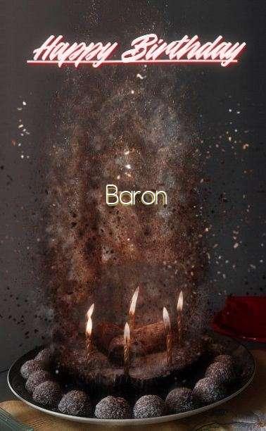 Happy Birthday Cake for Baron