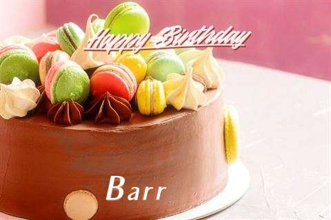 Happy Birthday Cake for Barr