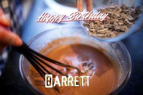 Happy Birthday Barrett Cake Image