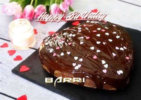 Happy Birthday Cake for Barri