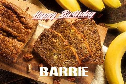 Happy Birthday Barrie Cake Image