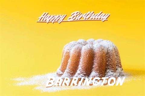 Happy Birthday Barrington