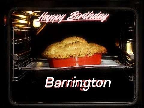 Happy Birthday Wishes for Barrington