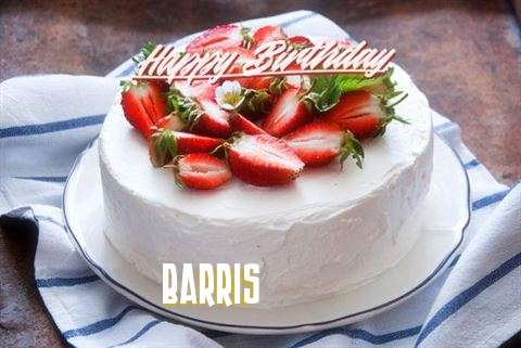 Happy Birthday Cake for Barris
