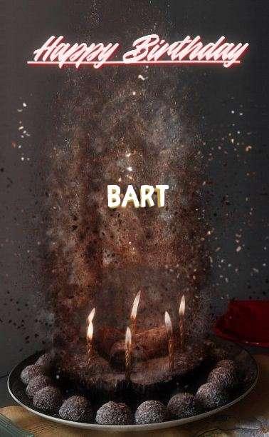 Happy Birthday Cake for Bart