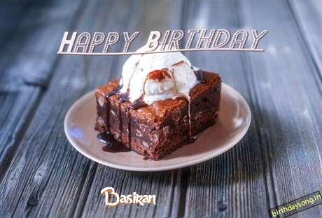 Happy Birthday Basiran Cake Image