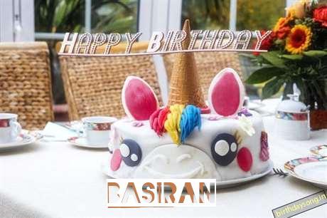 Happy Birthday Cake for Basiran
