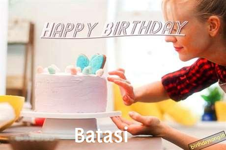 Happy Birthday Batasi Cake Image