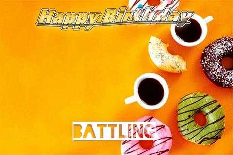 Happy Birthday Battling