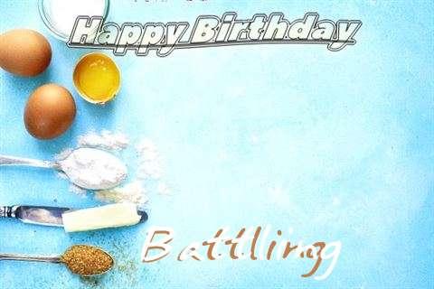 Happy Birthday Cake for Battling