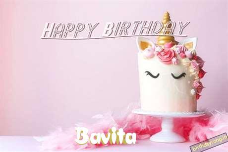 Happy Birthday Cake for Bavita