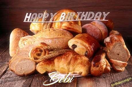 Happy Birthday to You Bebi