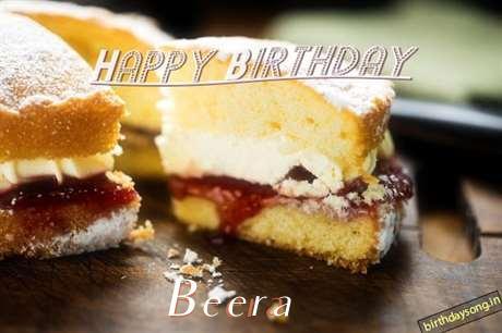 Happy Birthday Beera Cake Image