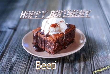 Happy Birthday Beeti Cake Image