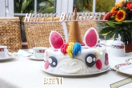 Happy Birthday Cake for Beeti
