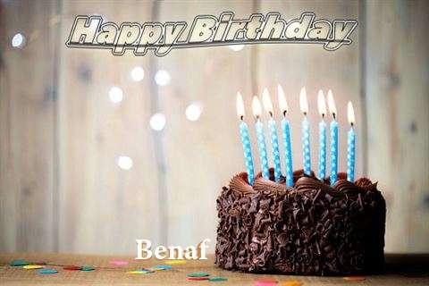 Happy Birthday Benaf
