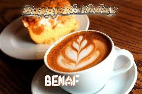Happy Birthday Cake for Benaf