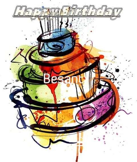 Happy Birthday Besant
