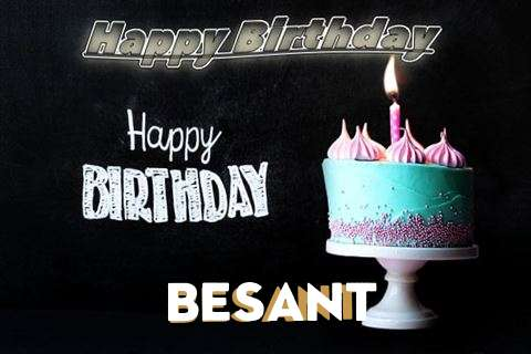 Happy Birthday Cake for Besant