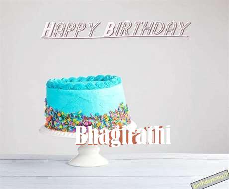 Happy Birthday Bhagirathi Cake Image