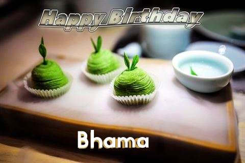 Happy Birthday Bhama Cake Image