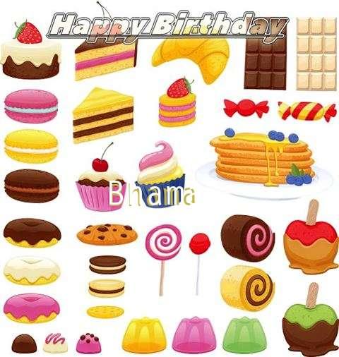 Happy Birthday to You Bhama